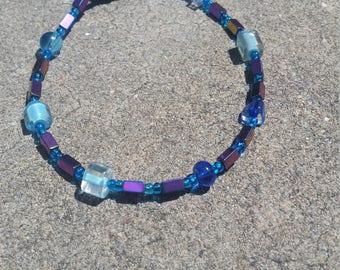 Beaded hemitite jewelry for kids (11 1/2 in)