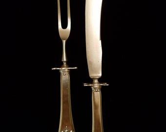 Sterling Silver Carving Set