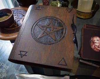 Book of Shadows,Sketchbook,Notebook - Pentagram