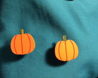 Cute Fall Autumn PUMPKIN Halloween Clog Shoe Charms