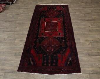 Rare Wide Runner Tribal Hamedan Persian Rug Oriental Area Carpet Sale 5X11ʹ5