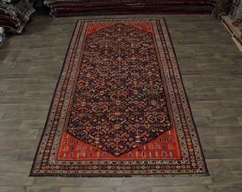 Exceptional Handmade Antique Malayer Persian Wool Rug Oriental Area Carpet 7X13