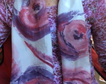 SWIRLS - SWIRLS scarf Silk scarf