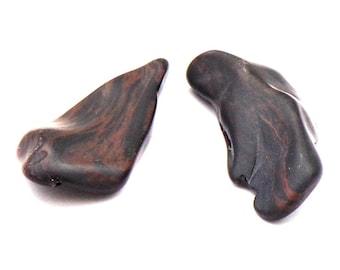 Raw Obsidian / 1 Mahogany Obsidian / Free Form / Tumbled Stones / Black Brown Stones / Utah Stone / Volcanic Gems / Raw Stone