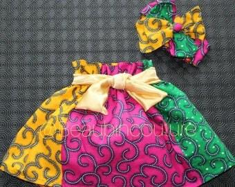 Amirah ruffle skirt