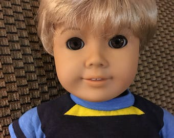 Custom OOAK American Girl Boy Doll