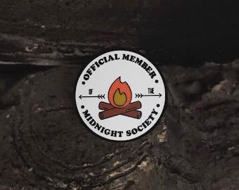 Midnight Society Enamel Pin