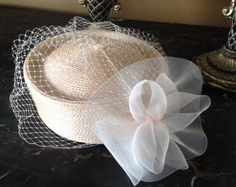 Vintage Lord And Taylor Straw Hat