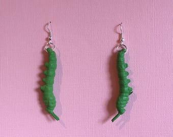 Caterpillar Earrings