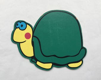 Vintage | Wooden | Turtle
