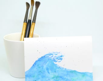 Custom Watercolour Greeting Card - MADE TO ORDER