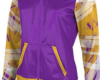 ProSphere Women's Delta Tau Delta Crisscross Fullzip Hoodie ()