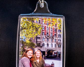"Four Photo Keychains and Two Magnets 2.75"" X 1.75"""
