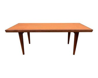 Vintage Danish Mid Century Modern Teak Coffee Table