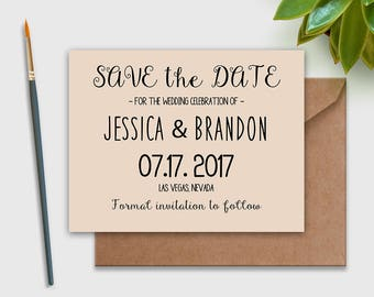save-the-date-rustic, Printable Save the Date postCard, DIY INSTANT DownLoad Editable for home print Wedding Save the Date Postcard,