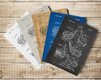 Golf Club Printable, Golf Art Decor, Golf Art Poster, Golf Patent Art, Golf Patent Print,Golf Patent Poster,Golf Blueprint, INSTANT DOWNLOAD