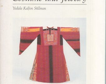 PALESTINIAN COSTUME & JEWELRY by Yedida K. Stillman textile traditional dress  art catalog ... middle eastern embroidery