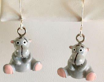 Hippo Love Honey Honey Earrings