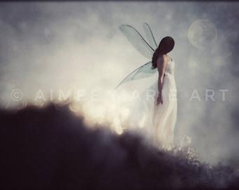 Fairy Print, Fairy Gifts, Fairy Art, Ethereal, Magical, Wall Art, Dreamy, Fantasy Art, Fairytale, Home Decor, Unique Art, Gift For Her, Art