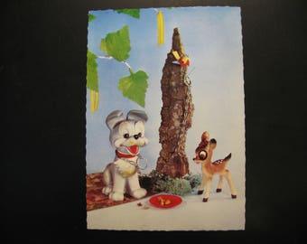 Original vintage postcard Walt Disney Productions Coloprint 1966 © ...