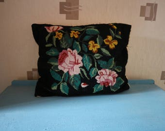 Vintage Embroidery Cushion