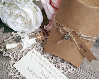 Marriage Proposal Gift | Will you Marry Me? | Personalised Marriage Proposal | Marriage Proposal | Message in a Bottle
