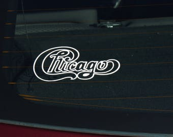 Chicago Laptop Etsy - Window stickers for cars chicago