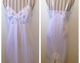 On Sale Vintage NOS Vanity Fair White Slip