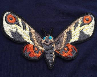 Moth Iron On Patch
