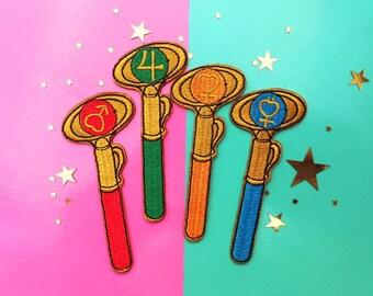Inner Senshi Magical Girl Gang Patch Set!