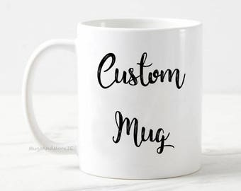 Personalised coffee mug, funny coffee mugs, custom coffee mug, coffee addict gift, office gift, work mug, rude funny mug, funny gift,
