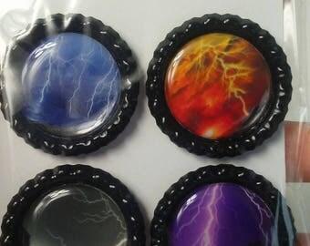 Lightning magnet set