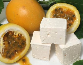 Passion Fruit Gourmet Marshmallows  - 16 Gourmet Handcrafted Marshmallows