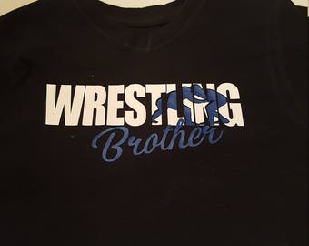 Wrestling Brother T shirt