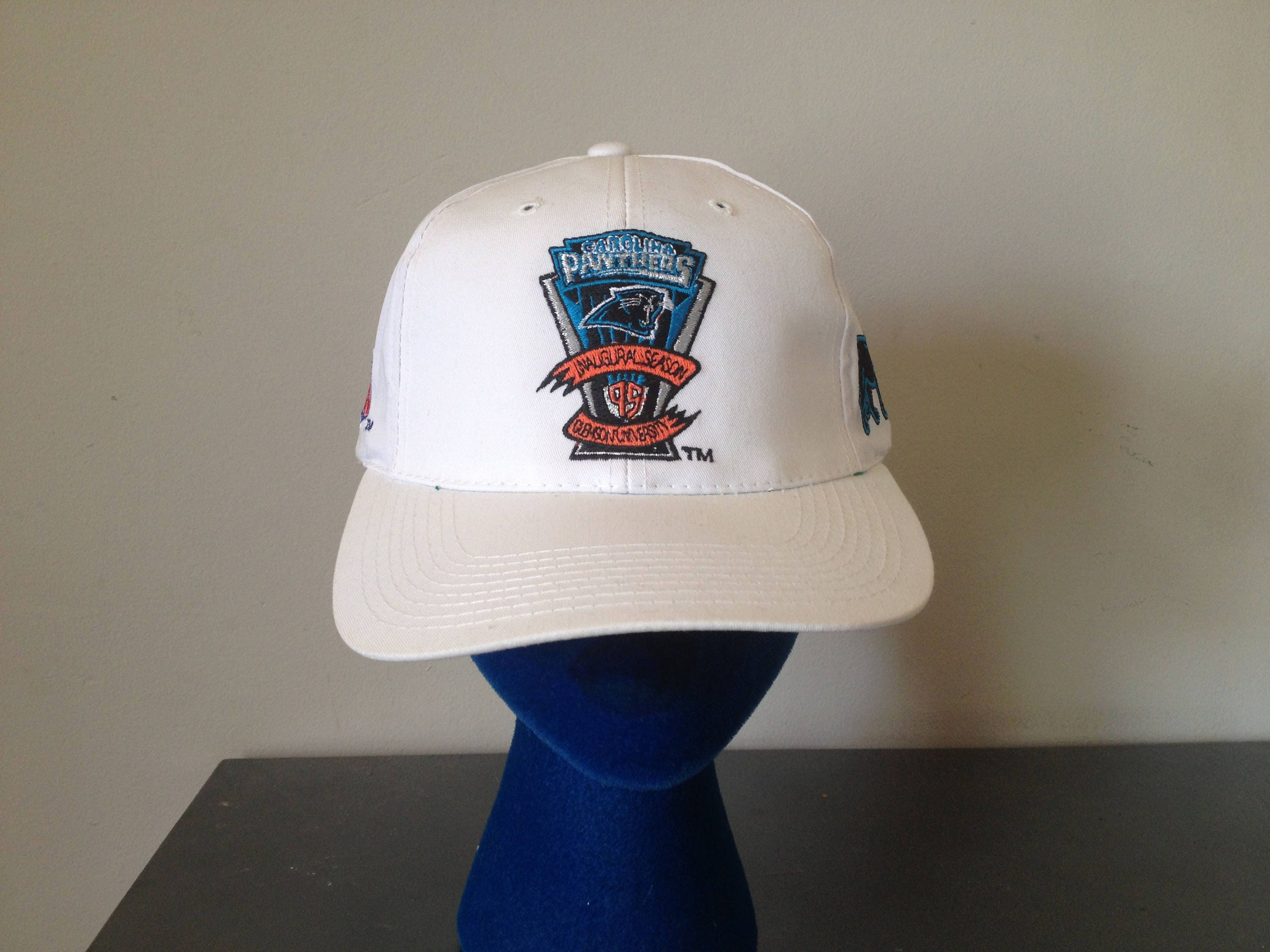 Deadstock 1995 Carolina Panthers Inaugural Season Snap Back Dad Hat Sport  Specialties Pro Line Team NFL ab4d1d752