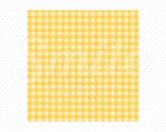 YELLOW SHEPHERD'S CHECK Digital Paper for Commercial Use | 0020
