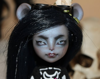 monster high repaint free shipping