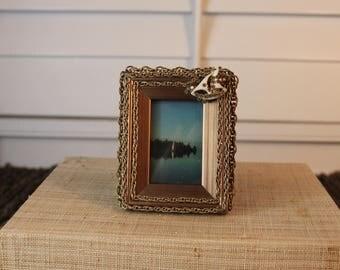 Sail boat embellished picture frame