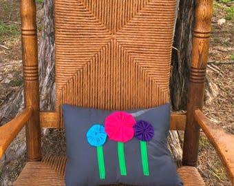 Yoyo Flower Pillow