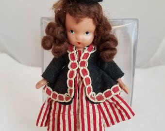 Vintage Nancy Ann Doll - One - Two Button My Shoe #123