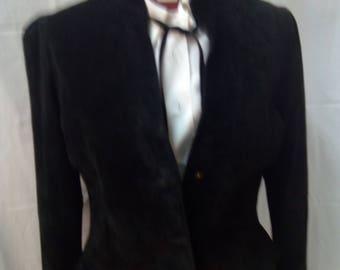 B12. Suede jacket