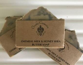 Oatmeal Milk & Honey Shea Butter Soap