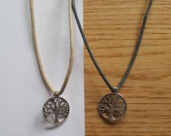 Handmade Adjustable Tree of Life Necklace