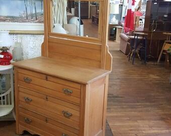 Beautiful Eastlake dresser.