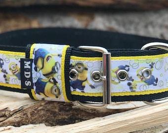 Dog collar - dog - collar strap - Doggy necklace ' Summer - the Minions
