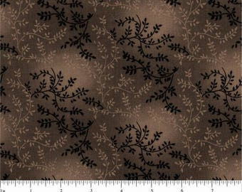 "108"" Quilt Backing Dark Brown on Brown"