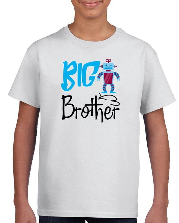 Big Brother T Shirt, Big Brother Announcement, Big Bro,baby Shower Gift. Big Brother Gift,sibling Shirt,new Brother Pregnancy Announcement