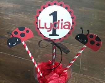 Ladybug Centerpiece