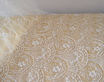 Latest design Lace Fabric,Bridal Lace Fabric, Wedding Dress Lace fabric,Embroidery Bridal Lace,French Lace For Evening Dress
