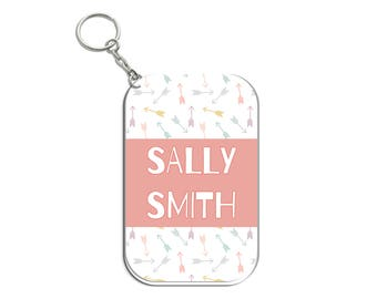 Personalised Bag Name Tags for Kids - Boho Style